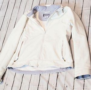 Columbia Cream Coat Fleece Jacket Size Xlarge